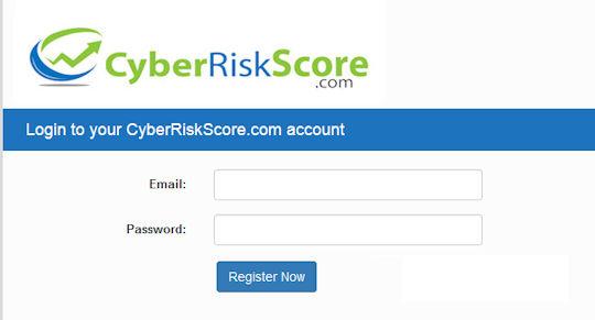 Cyber Risk Score Registration